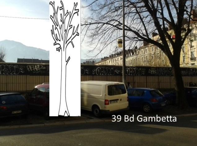 39 Bd Gambetta, rasé pour mieux voir le street art ?