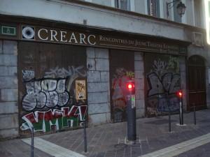 en soirée rue Pierre Duclot
