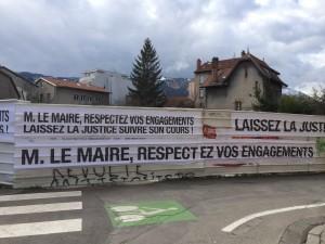 Rue Raspail : les habitants sont bien respectueux pour un Maire qui ne l'est pas de ses engagements publics