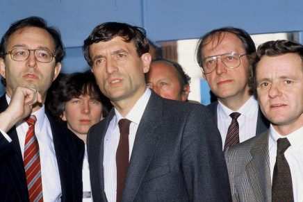 François Léotard et Alain Carignon