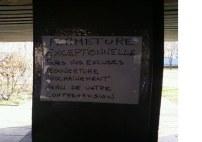 annonce des dealers sur les immeubles HLM