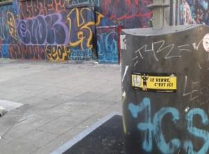 """street """"art"""" rue de Turenne dans la """"ville apaisée"""""""