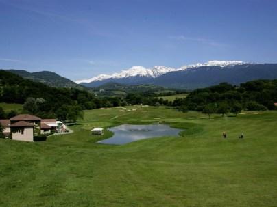 Alain Carignon créé le Golf International de Bresson ...