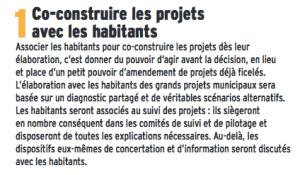 """La co-construction était un leurre. Même la simple """"concertation"""" a été officiellement abandonnée pour la politique de stationnement"""
