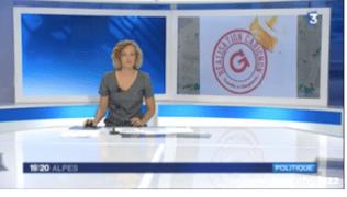 """France 3 Alpes lance le sujet des """"réalisations Carignon"""""""