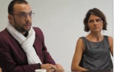 Yann Mongaburu (Verts/Ades) annonçant l'interdiction instrumentalisant Johanna Lepeule