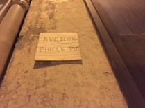 Avenue Piolle-Pot affiché avenue Agutte Sembat pour dénoncer les méthodes de l'extrême gauche grenobloise