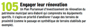 Pas de plan pluriannuel évidemment et le patrimoine continue à s'effondrer ( ancien Musée, Tour Perret, Orangerie ...)
