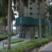 l'immeuble du siège de la société dont E.Piolle est actionnaire à Singapour: elle vend des logiciels de prévention des risques financiers... aux banques