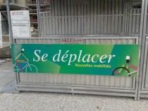 P. Kermen sur le chantier de la Presqu'île: à vélo dans l'écocité de la ville de demain