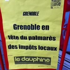 a quand l'interdiction du Dauphiné Libéré s'il annonce la réalité?