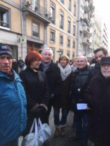 Christian Potard, Daniéle et Adrien Fodil, François Tarantini , Véronique Bec