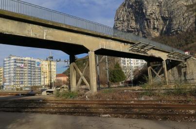 Le Pont Bergonzoli à St Martin le Vinoux sera à voie unique!