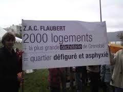 La ZAC Flaubert un nouvel espace asphyxié
