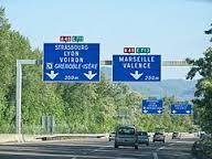 On doit à Alain Carignon à son arrivée la réalisation de l'autoroute Grenoble-Valence bloquée 20 ans par les élus PS et les Verts