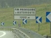L'autoroute Grenoble/Sisteron obtenue et lancée par Alain Carignon a été interrompue par ses successeurs au Col du Fau