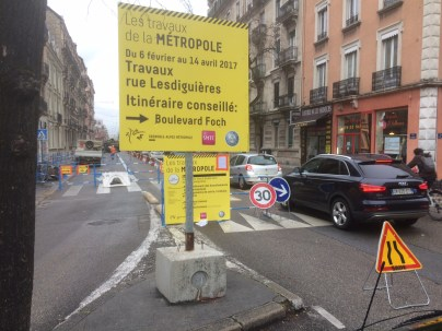 E.PIolle veut rendre irréversible la fermeture de Grenoble