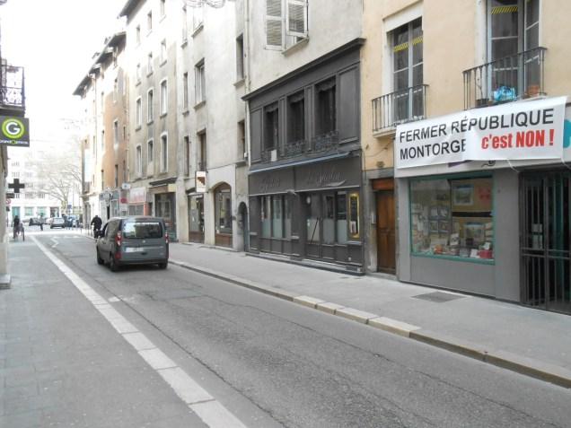 La rue Montorge ne sera plus accessible en voiture