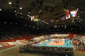 Le Palais des Sports de Grenoble avait déjà accueilli la coupe Davis