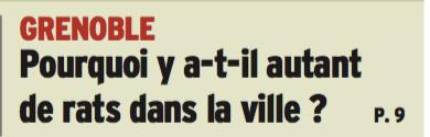 """le """" Dauphiné """" pose la question"""