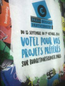 """A Paris l'opération d'enfumage sur les """"budgets participatifs"""" passe sur les sucettes Decaux qui ne coûtent rien à la ville"""