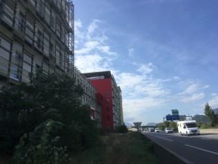 Boucher-Viallet quartier installé en bordure du bouchon de A 480 ( municipalité Destot/Verts)