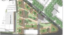 ... le béton est en vert sur les plans de la municipalité ...