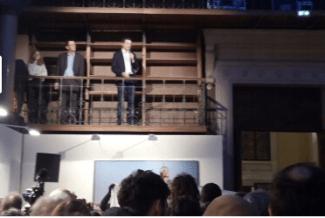L'année dernière Eric Piolle s'était réfugié sur la galerie de l'ancien Musée pour ses voeux afin d'être inacessible...