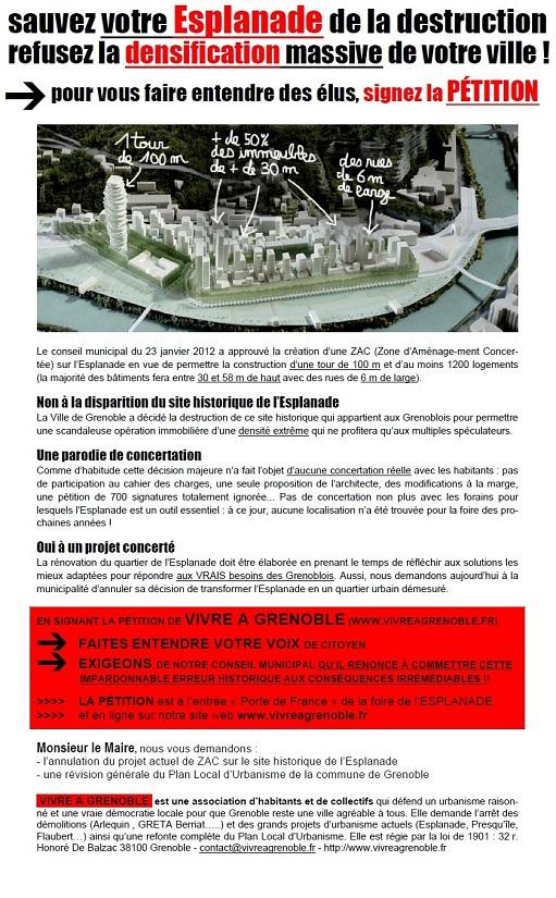 petition esplanade sauver 1