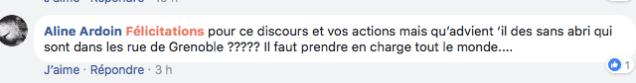 Sur sa page Facebook, même ceux qui ne voient pas l'opération politicienne s'interrogent sur ses conséquences à Grenoble