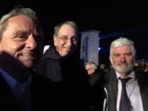 Avec Denis Masseglia Président du Comité Olympique et Georges Catelin,