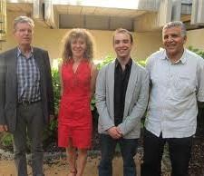 Hakim Sabri ( à droite notamment avec le clan des Verts/Ades , Raymond Avrillier et Yann Mongaburu) va augmenter les tarifs du chauffage urbain à compter de ... 2020