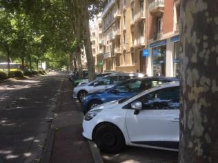 65 places de stationnement supprimées rue E.Gueymard en 2019 après la perte de 25 Places rue Casimir Brenier en 2018 : E.Piolle améliore chaque année ses résultats