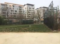 Après l'hôtel Okko , la prochaine amputation du parc Hoche : ces terrains doivent être bétonnés pour construire une école non anticipée pour les 1 200 logements construits dans le secteur !