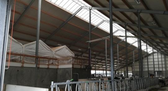 De Rustpunt-tent in de stal