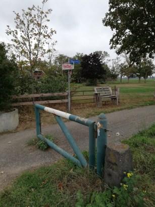 De groene grens zuidelijk van Megchelen