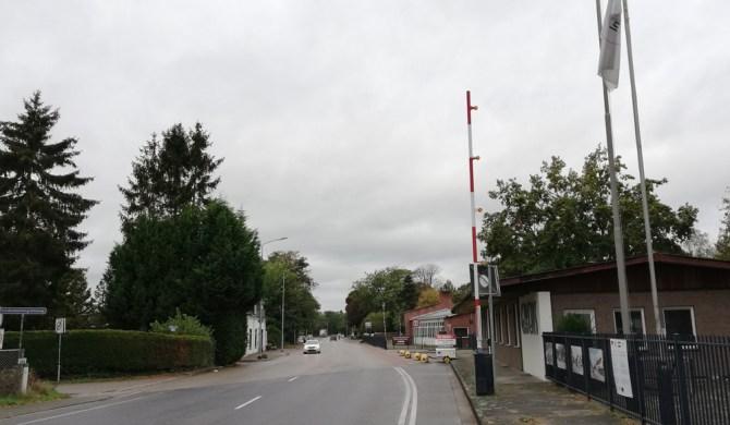Bij de oude grensovergang Kaldenkirchen-Tegelen