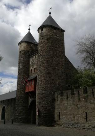 Oude stadspoort in Maastricht