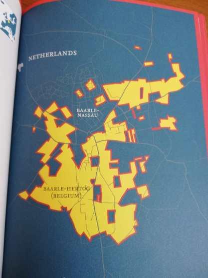 De rare grenzen bij Baarle-Nassau en Baarle-Hertog