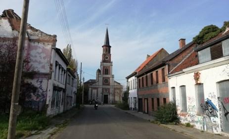 De kerk in Doel