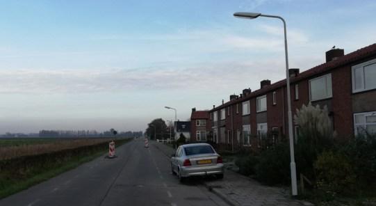 Op de Grensstraat van Sas van Gent
