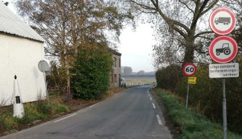 De grens bij Posthoorn