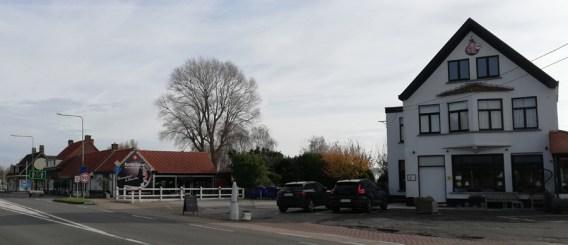 De meeste westelijke grensovergang van Nederland, vlak buiten Sint Anna ter Muiden
