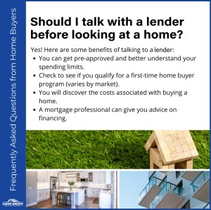 4 Reasons To Meet a Lender Before Home Shopping
