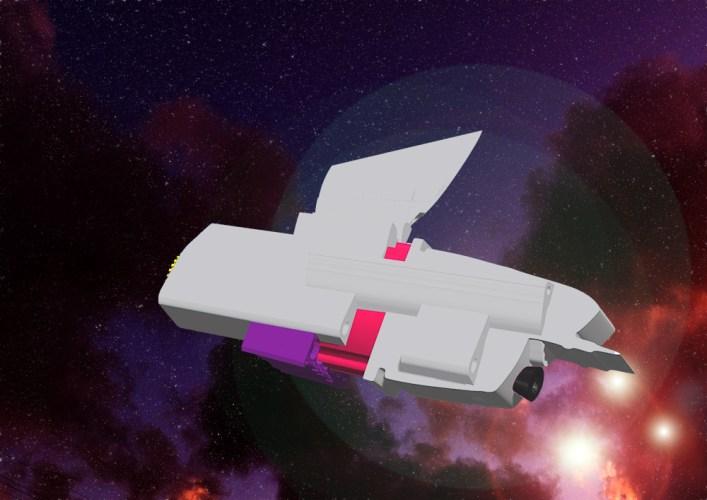 Progress on space ship