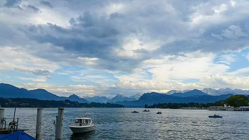 Loving Lake Lucerne (plus a great little shop in Picton)