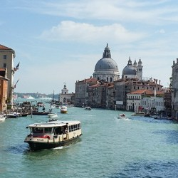 The paths through Venice: September 2015
