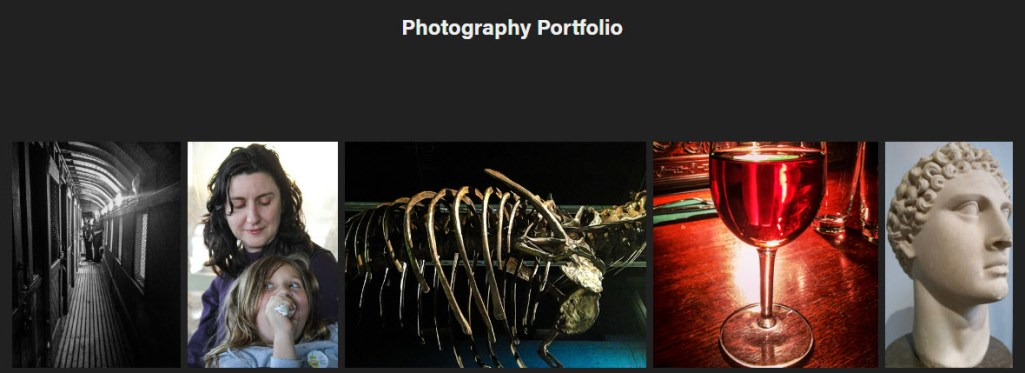 #Adobe #Portfolio - giving it a go