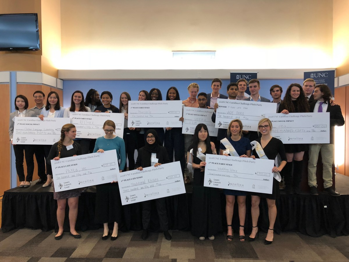 Carolina Challenge Celebrates Student Founders at UNC