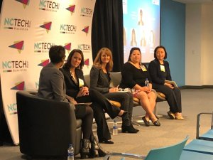Noreen on the NC Tech Panel